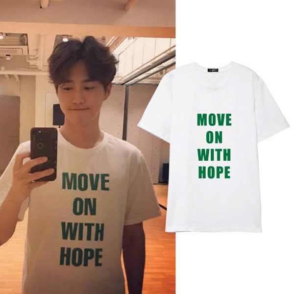 EXO SUHO MOVE ON WITH HOPE T-SHIRT