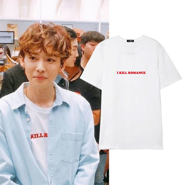 WINNER JINWOO I KILL ROMANCE T-SHIRT