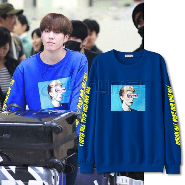 GOT7 YUGYEOM GRAPHIC SWEATER