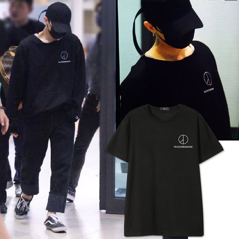 BIG BANG G-DRAGON PEACEMINUSONE T-SHIRT