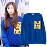 APINK EUNJI YOU WILL BE FINE SWEATER