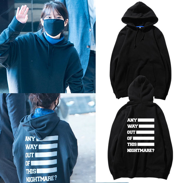 IU ANYWAY OUT OF THIS NIGHTMARE HOODIE