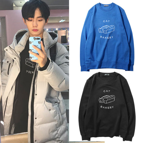 JBJ LONGGUO CAT BAKERY SWEATER