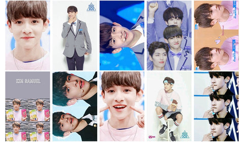 KIM SAMUEL PRODUCE 101 PHOTOCARDS