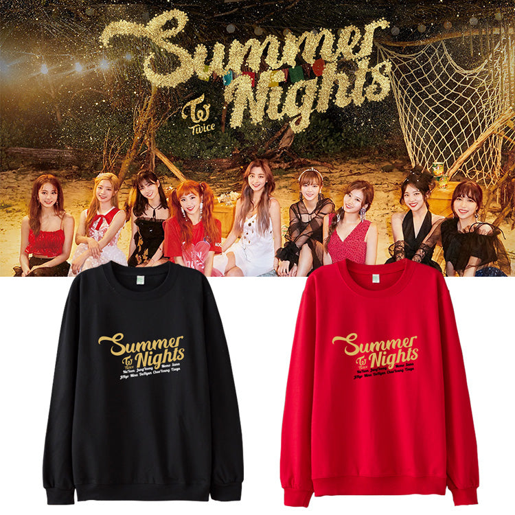 87345890b38 TWICE SUMMER NIGHTS SWEATER – IDOLS FASHION
