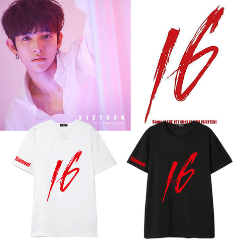 KIM SAMUEL SIXTEEN DEBUT T-SHIRT