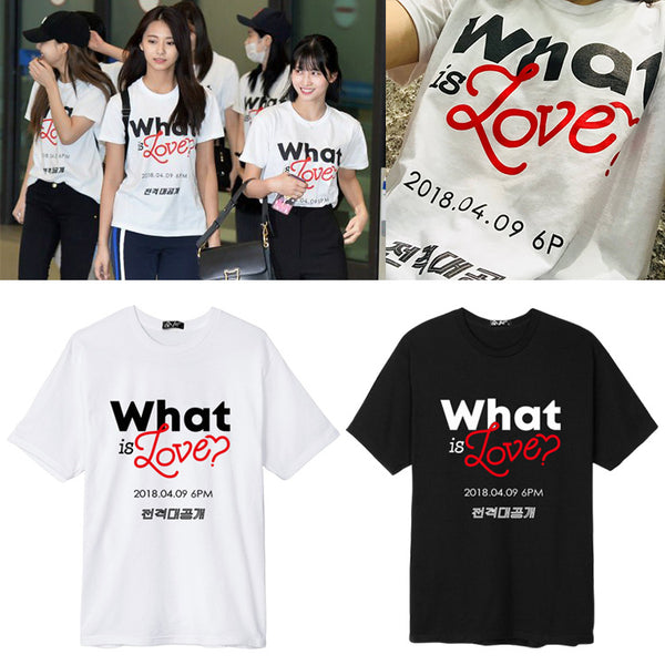 TWICE WHAT IS LOVE MEMBERS T-SHIRT