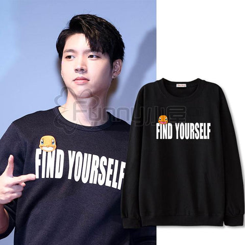 INFINITE WOOHYUN FIND YOURSELF SWEATER