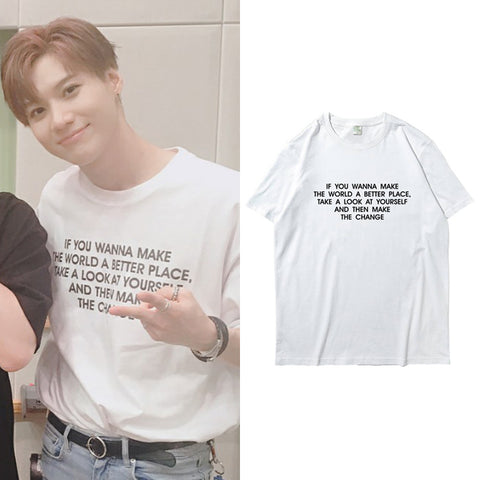 SHINEE TAEMIN A BETTER PLACE T-SHIRT