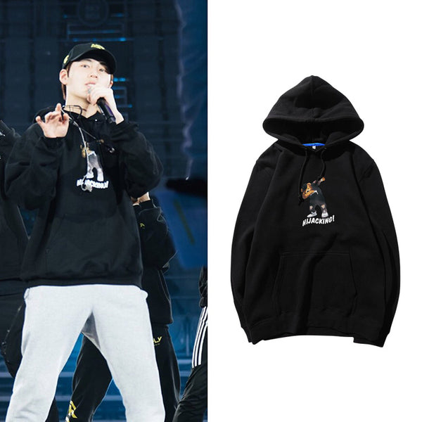 WANNA ONE SUNGWOON HIJACKING HOODIE