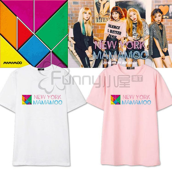 MAMAMOO NEW YORK T-SHIRT - IDOLS FASHION