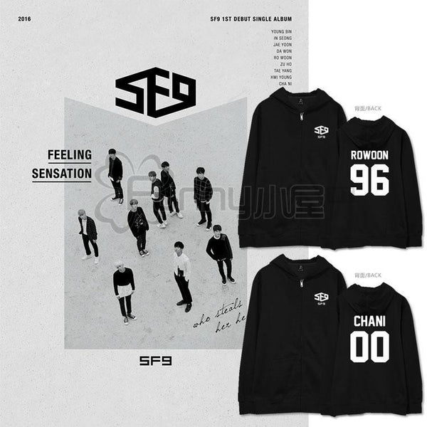 SF9 DEBUT HOODIES - IDOLS FASHION
