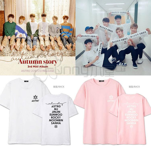 ASTRO AUTUMN STORY T-SHIRTS