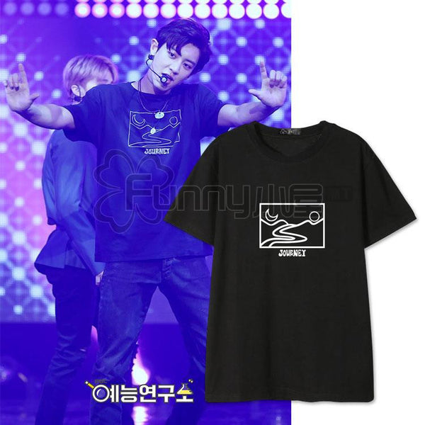 EXO CHANYEOL JOURNEY T-SHIRT - IDOLS FASHION