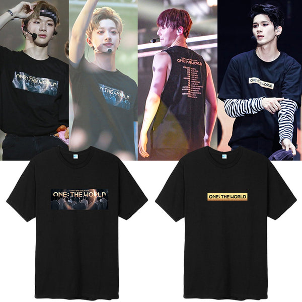 WANNA ONE THE WORLD CONCERT T-SHIRT