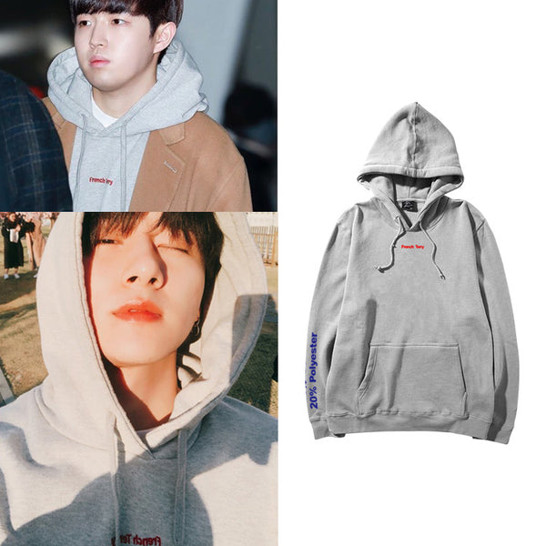 MONSTA X I.M WANNA ONE JAEHWAN FRENCH TERRY HOODIE