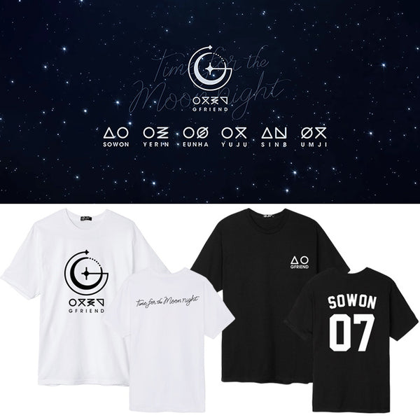 GFRIEND TIME FOR THE MOON NIGHT T-SHIRT