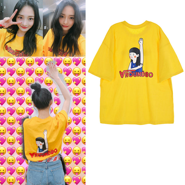 PRISTIN KYULKYUNG AROUND YELLOW SHIRT