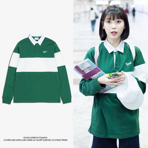 IU CARHARTT POLO SWEATER