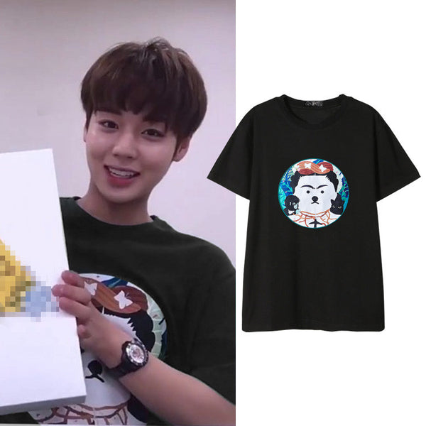 WANNA ONE JIHOON PUPPY T-SHIRT