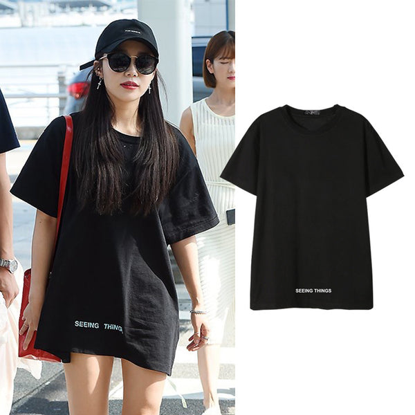 APINK EUNJI SEEING THINGS T-SHIRT