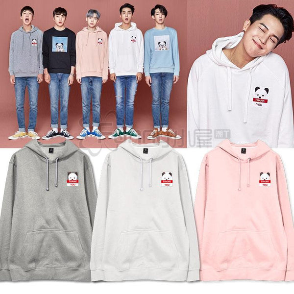 WINNER MINO SEUNGHOON TAEHYUN THANK YOU HOODIES