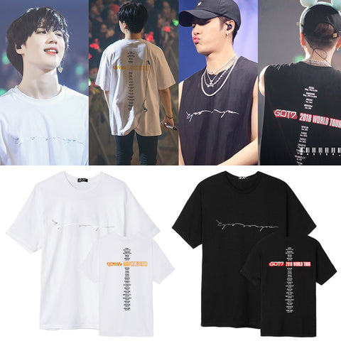 GOT7 EYES ON YOU 2018 TOUR T-SHIRT