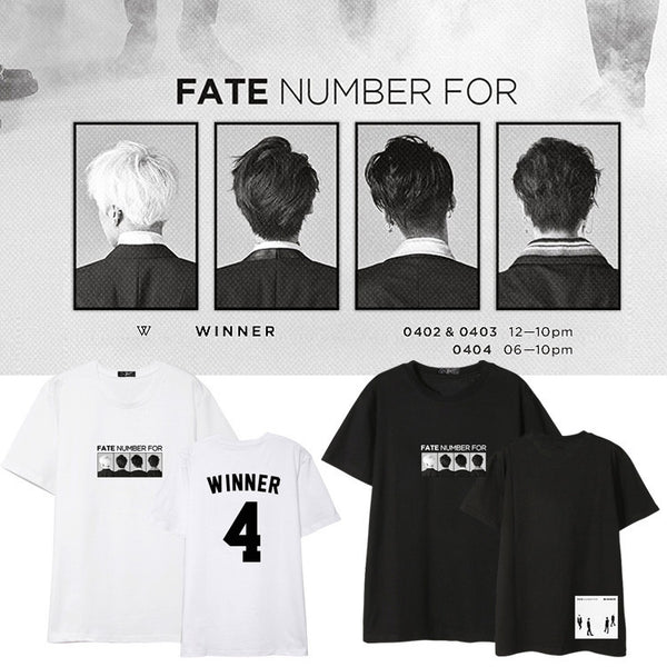 WINNER FATE NUMBER FOR T-SHIRT