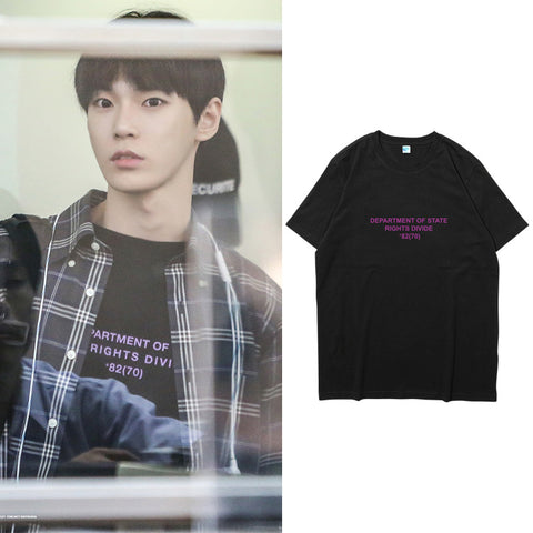 NCT DOYOUNG DEPARTMENT OF STATE T-SHIRT