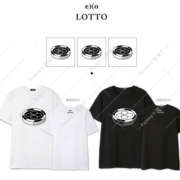 EXO LOTTO T-SHIRT - IDOLS FASHION