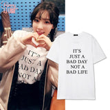 SNSD TAEYEON NOT A BAD LIFE T-SHIRT