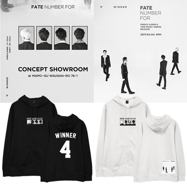 WINNER FATE NUMBER FOR HOODIE