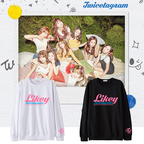 TWICE LIKEY SWEATER
