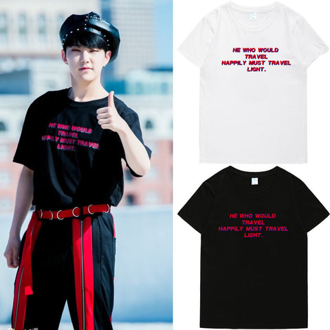 SEVENTEEN HOSHI HE WHO WOULD TRAVEL T-SHIRT