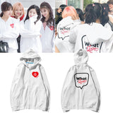 TWICE WHAT IS LOVE ZIP UP HOODIE