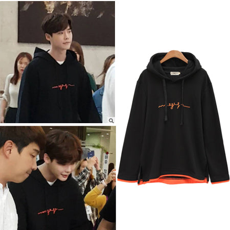 WHILE YOU WERE SLEEPING LEE JONG SUK SCRIBBLE HOODIE