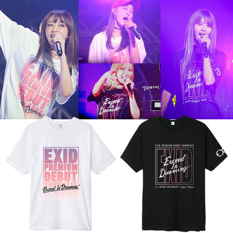 EXID EXCEED IN DREAMING JAPAN CONCERT T-SHIRT