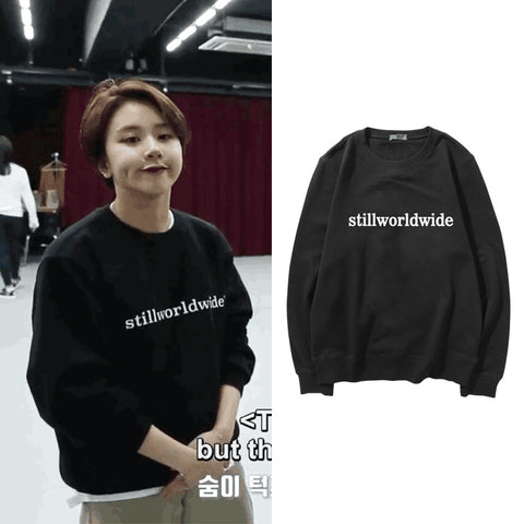 TWICE CHAEYOUNG STILL WORLDWIDE SWEATER