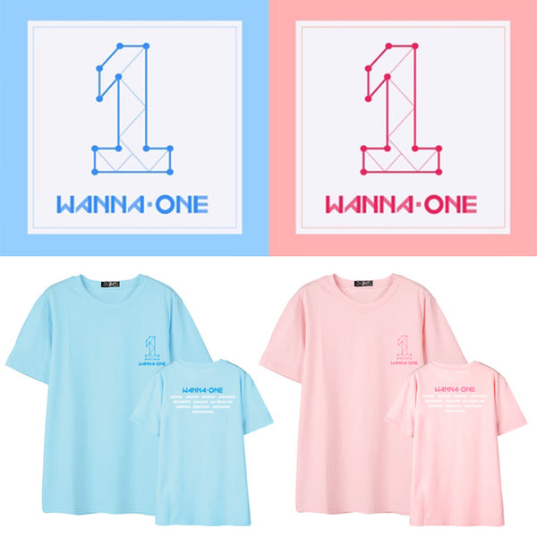 WANNA ONE DEBUT MEMBER NAMES T-SHIRT