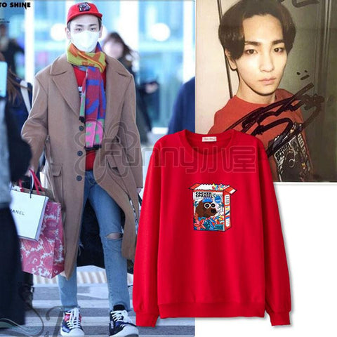 SHINEE KEY DOG SWEATER