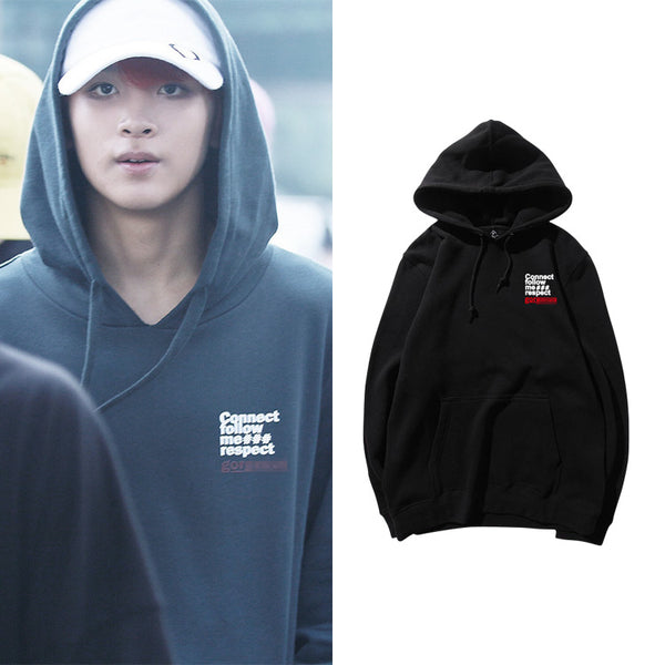 NCT HAECHAN CONNECT FOLLOW ME HOODIE