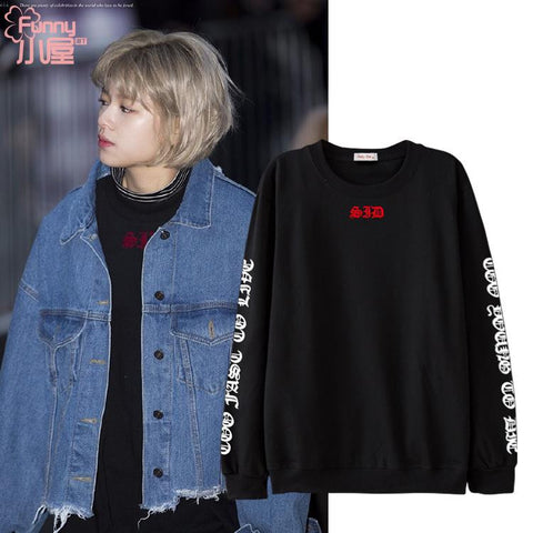 TWICE JUNGYEON SAD SWEATER