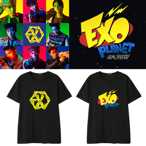 EXO PLANET THE POWER OF MUSIC T-SHIRT