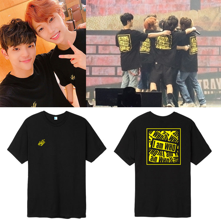 b0a657c8b6301 STRAY KIDS I AM WHO SHOWCASE T-SHIRT