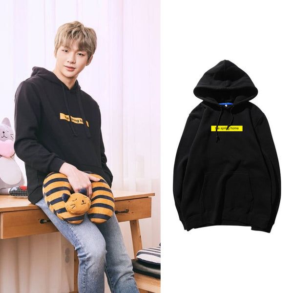 WANNA ONE DANIEL THE SPRING HOME HOODIE