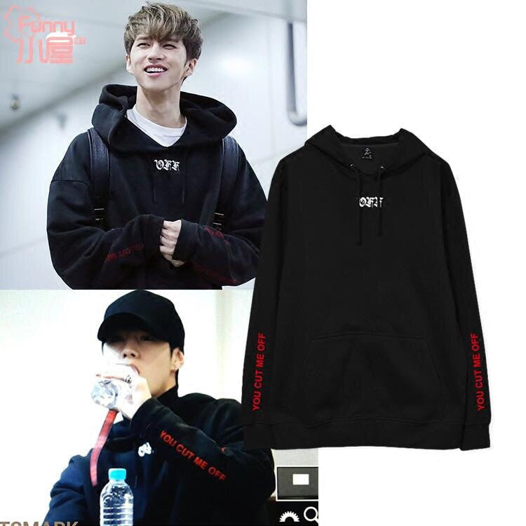 GOT7 MARK VIXX KEN CUT ME OFF HOODIE