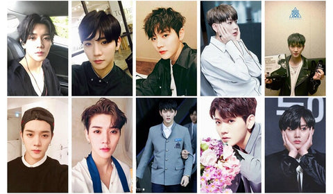 NU'EST REN PRODUCE 101 PHOTOCARDS