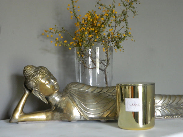 Luxe Soy Candles (gold)