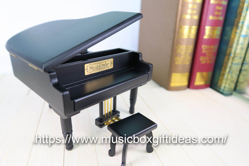 Piano Musical Jewelry Box