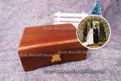 Twilight Soundtrack A Thousand Years 30-Note Wind-Up Music Box Gift (Wooden) - Music Box Gift Ideas